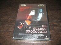 Il Quarto Protocollo DVD Michael Caine Pierce Brosnan Sigillata, Nuovo