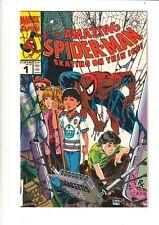 Amazing Spider-Man Skating on Thin Ice #1 FN+ 1990 Canadian Edition - McFarlane