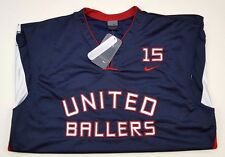 Nike United ballern New Jersey blau Herren große NWT size Vince Carter VC 137211 **