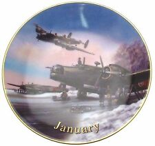 Davenport Wings of Fame January Winter Warriors Wilfred Hardy Aircraft Plate