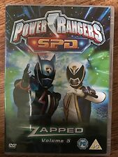 Power Rangers S.P.D. Space Patrol Delta - Vol.5 - Zapped Rare OOP UK DVD