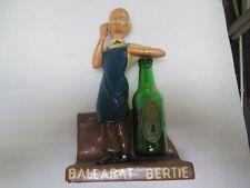 AUSTRALIAN POTTERY BALLARAT BEER BERTIE PLASTER ADVERTISING STATUE