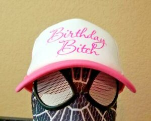 Adult Party Novelty Accessory BIRTHDAY BITCH Hat Cap 21st B-day Trucker Baseball