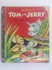 RARE! Little Golden Book - MGM's TOM AND JERRY (1973) H/C