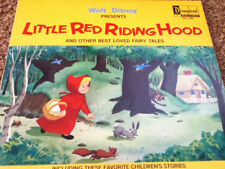 Vintage Disney Little Red Riding Hood Vinyl Lp Dq-1284 Free Shipping