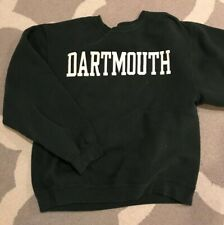 Vintage Dartmouth University Unisex Medium Sweatshirt Green