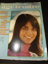 Mademoiselle Age tendre  N°24  de 1966 / MIREILLE MATHIEU,LES STONES,JOHNNY ca61