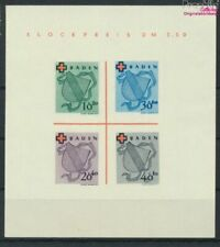 Franz. Zone-Baden Mi.-number.: block2ii (complete issue) unused 1949 R (9398127
