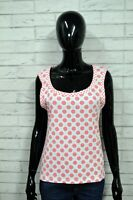 MOSCHINO Donna 44 Underwear Maglia Canotta Shirt Woman Jersey Damenhemd Cotone