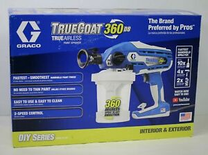 Graco TrueCoat 360 DS Electric TrueAirless Sprayer 17A466 - Brand New Sealed