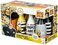 DESPICABLE ME 3 MINIONS TEN PIN BOWLING SKITTLES AND BALL SET KIDS CHILDREN OFFI