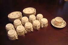 "CHARLES AHRENFELDT ""Saxonia"" Limoges, France - c1880s coffee set 22pc[*4-46]"