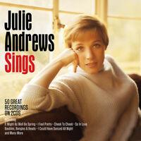 JULIE ANDREWS - JULIE ANDREWS SINGS - 2 CDS - NEW!!