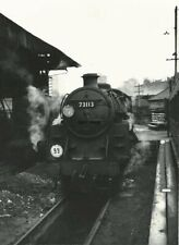 PHOTO  BR STANDARD CLASS 5MT 4-6-0 NO  73113 LYONESSE AT GUILDFORD SHED 04/65 WI