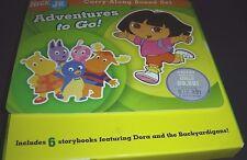 Adventures to Go! 2006 Paperback 6 Kids Storybooks Featuring Dora Backyardigans