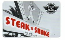 Steak n Shake Gift Card No $ Value Collectible