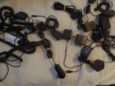 Mixed Lot Of 18 Wall/Car Chargers For Sony Erikson, Nextel, Lg, Samsung & More