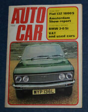 February Autocar Cars, 1970s Magazines