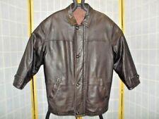 Elk Skin Leather Jacket by MV Brandt made in Finland Men's size 50 - Top Quality
