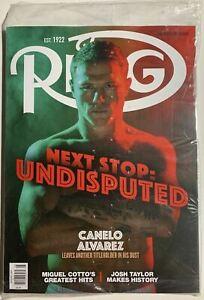 SAUL CANELO ALVAREZ & SHOBOX COMMEMORATIVE 2 Ring Magazine Boxing lot NEW SEALED