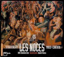 STRAVINSKY  les noces, mass, cantata  RIAS KAMMERCHOR, MUSIKFABRIK / SACD