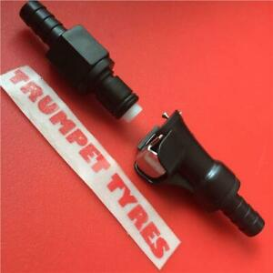 Uninversal Inline QUICK RELEASE FUEL LINE 8mm Coupler For Motorcycle MX Race Use
