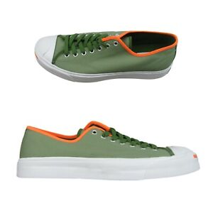 Converse Jack Purcell OX Street Sage Green Canvas Sneakers Size 9 Mens 167622C