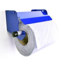 Van Mountable Blue Towel Roll Hanging Holder Dispenser With Stop Brake