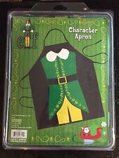 New Icup Elf Adult Character Apron Will Ferrell One size fits all Christmas Elf
