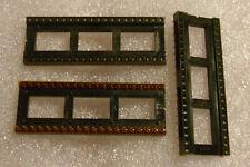 Cambion 40 Pin DIP Socket - Gold Dual Wipe Pins - Kynar Film Protected