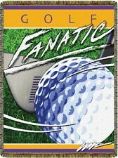 GOLF FANATIC Sport Tapestry Afghan Throw Blanket