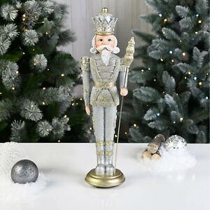 New Traditional Design Champagne Nutcracker Lovely Christmas Gift Home Decor G21