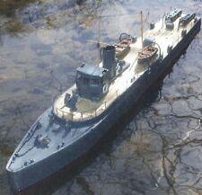 *** Modello Di Barca A PLAN HMS tarret masb MTB motore anti-BARCA SOTTOMARINA