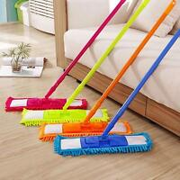 Wet And Dry Floor Cleaning Supply Flat Mop Microfiber Chenille Mop