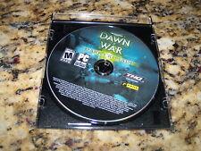 Warhammer 40,000 Dawn of War Dark Crusade (PC, 2006) Replacement disk near mint