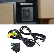 KFZ AUX USB Schalter Kabel Für RCD510 RCD310 RNS315 VW Jetta Golf 6 Scirocco