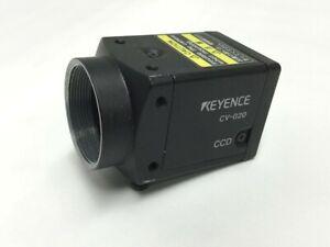 "Keyence CV-020 High Speed Digital Camera Monochrome Machine Vision 1/3"" CCD"