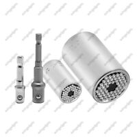 11-32mm 7-19mm Multi-function Socket Wrench 2Pcs Set Universal Ratchet Sockets