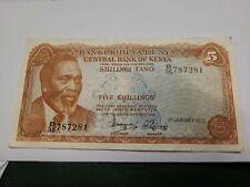 Kenya 5 Shillings 1975 (N102)  Unc