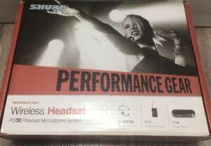 Shure microfono ad archetto wireless PG30/PG1/PG4 for DJ performance gear pro