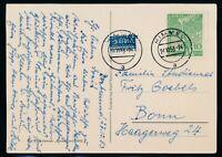 Berlin 1952, Mi. 88-89 auf Brief und Karte, portorichtige Frankaturen!