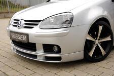 Rieger Spoilerlippe für VW Golf 5 V 00059301 ohne Rippen / NEU / RIEGER-Tuning