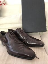 Chocolate Brown DSQUARED2 Ernesto Modern Oxfords 12 US 45 EURO EUC