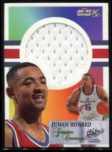 1999-00 Hoops Decade Genuine Coverage 5 Juwan Howard Jersey