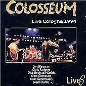 CD:  Colosseum - Live Cologne 1994 - Hiseman Greenslade Farlowe. New,not sealed.
