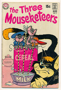 DC The Three Mouseketeers Issue #2 Comic Book 4.0 VG 1970
