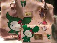Tokidoki For Hello Kitty Large Purse And New Wallet
