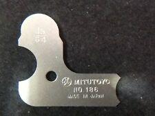 Mitutoyo 1564 Radius Gauge No 186