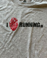 adidas running t shirt Men's Medium M I Love Running