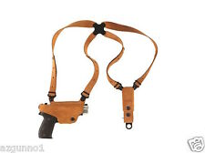 Galco Classic Lite Shoulder Holster, RH Natural Glock 43, XD-S # CL662